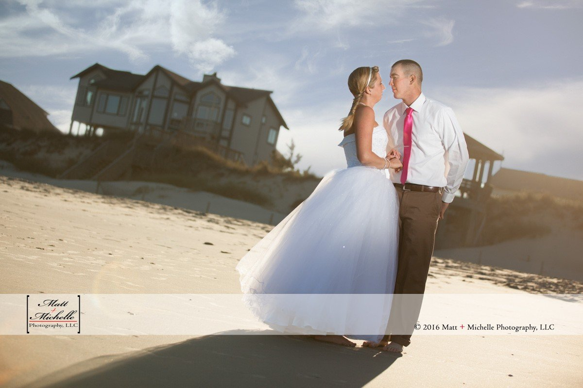 Outer Banks Wedding Photographers | Sam + Jon Sneak Peek